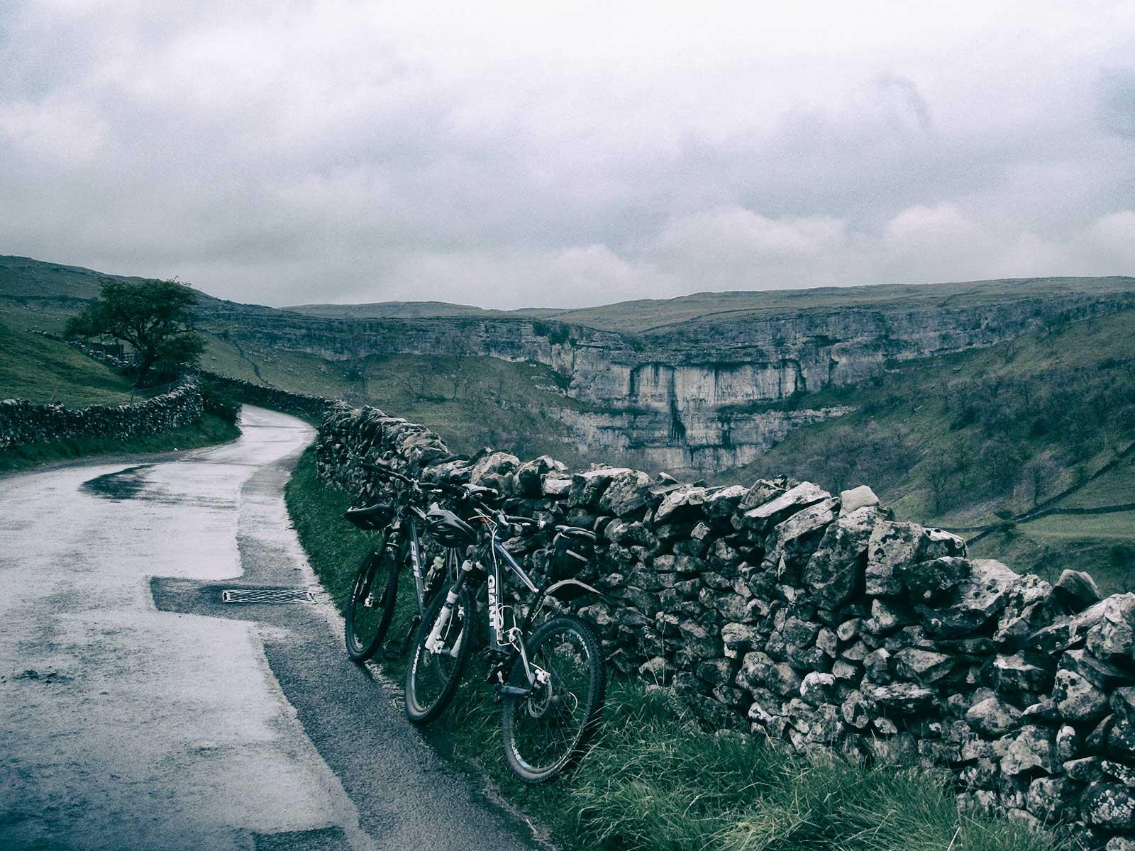 Airton - Malham - Calton Moor Bike Route