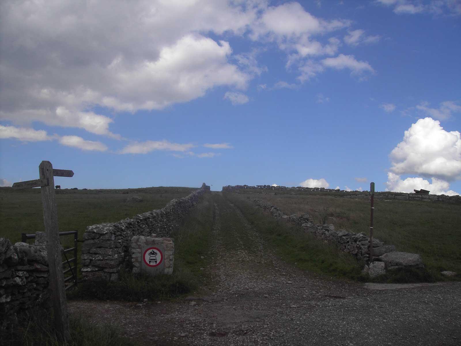 Hetton - Malham Moor via Mastiles Lane Bike Route