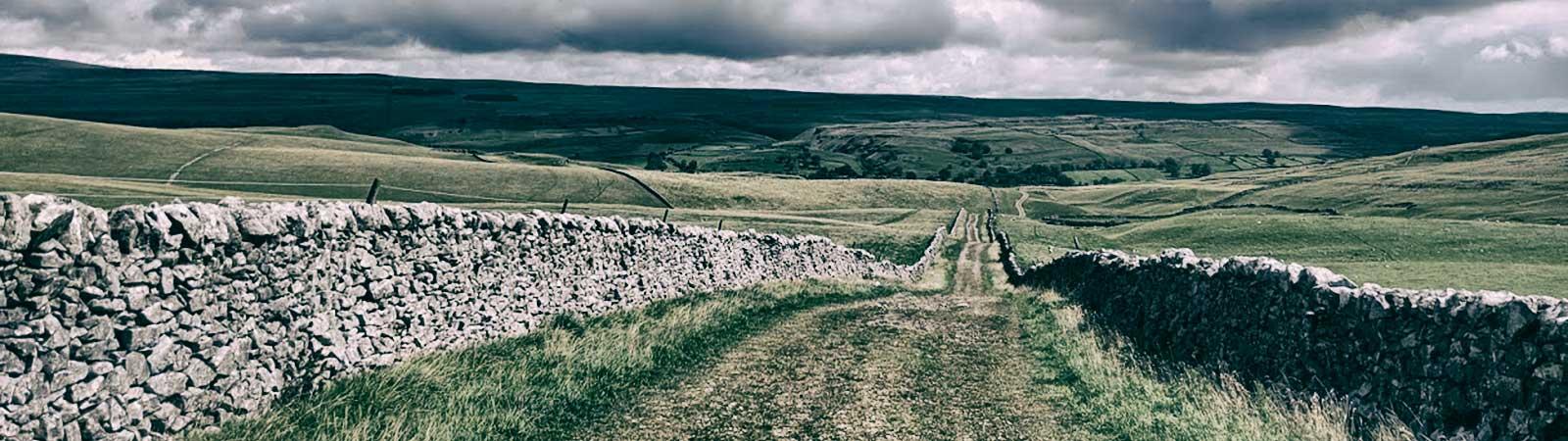 Kilnsey Malham Hawkswick Cote Via Mastiles Lane Bike Route