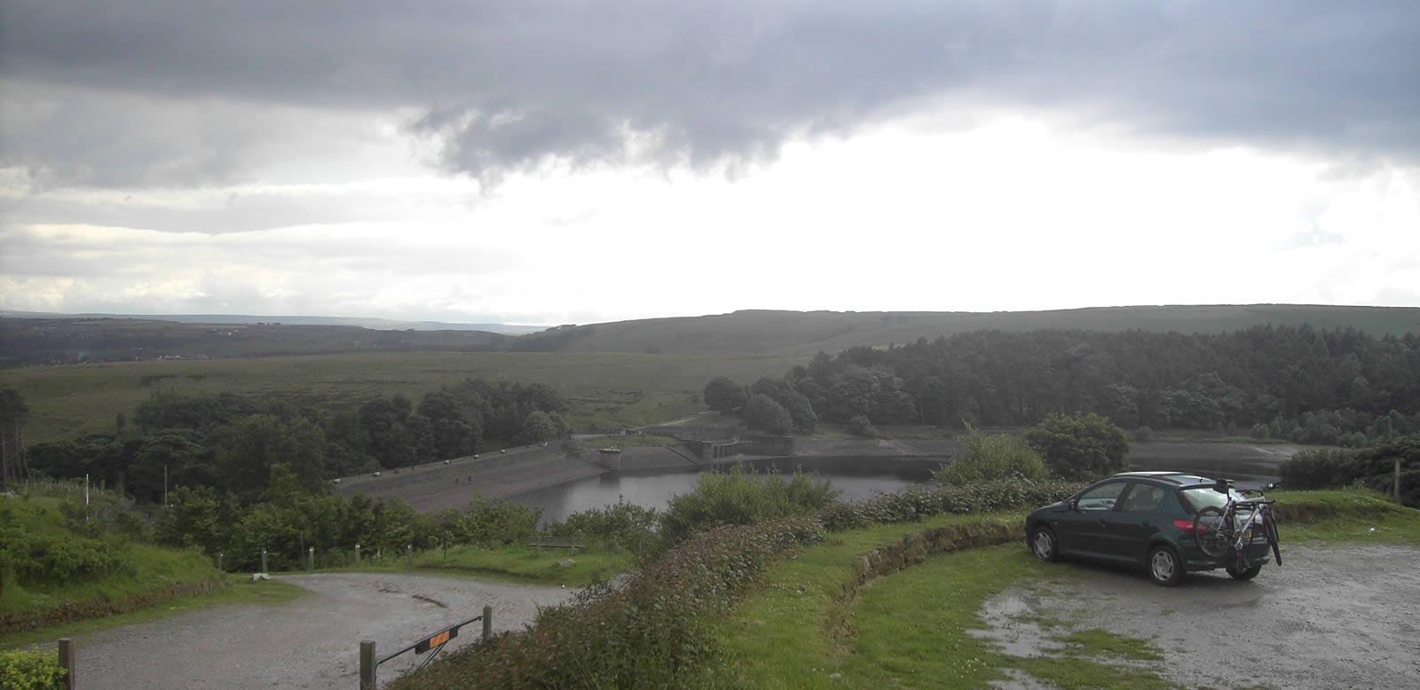 Ogden Reservoir Bike Route